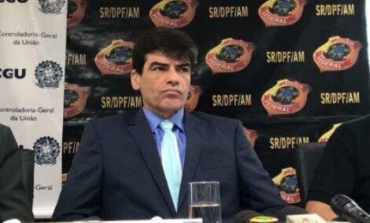O delegado da PF acusa ministro Salles e é substituido (Crédito: Reprodução)