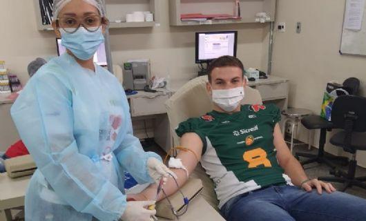 Cuiabá Arsenal incentiva doação de sangue ofertando brindes exclusivos (Crédito: Divulgação)