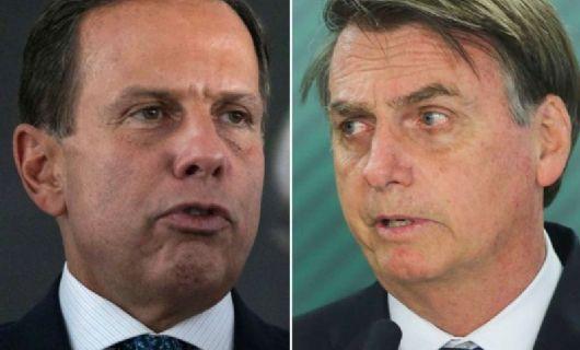 João Doria promete vacinar Bolsonaro contra raiva com a vacina antirrábica do Butantan