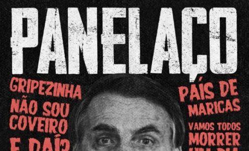 Luciano Huck e Vem Pra Rua convocam panelaço contra Bolsonaro (Crédito: Reprodução)
