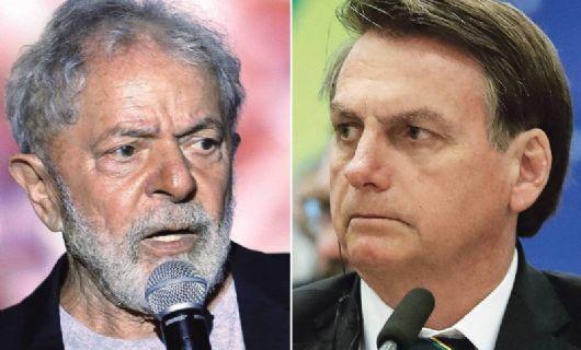 Pesquisa PoderData: Lula amplia vantagem e venceria Bolsonaro no 2º turno por 52% a 34%