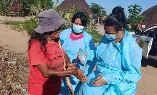 Casos de covid-19 entre indígenas chegam a 44.680, diz Apib (Crédito: Divulgação/Ministério da Saúde)