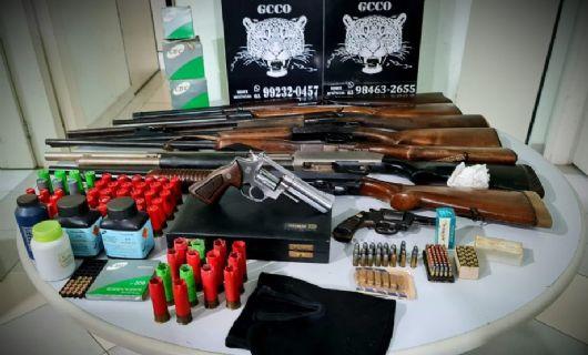 Polícia Civil recupera mais de seis mil litros de defensivos roubados de fazenda em Sapezal (Crédito: Polícia Civil-MT)