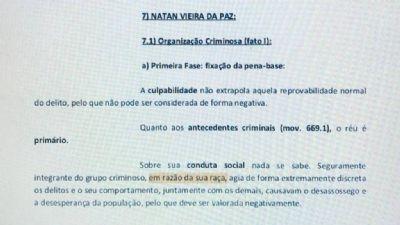 Corregedoria abre investigação sobre caso de juíza que citou raça ao condenar réu negro