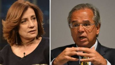 Miriam Leitão aponta queda iminente de Paulo Guedes