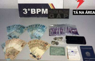 PM identifica casa usada para aplicar golpes e detém suspeito em Cuiabá