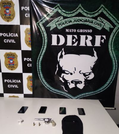 Polícia Civil prende envolvidos em roubos a comércio, entre eles duas adolescente que estavam desaparecidas