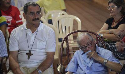 O MST presta homenagem a Pedro Casaldáliga pelos 93 anos