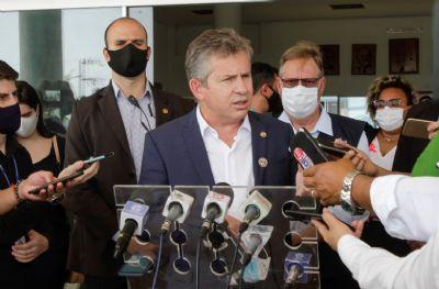 Mauro Mendes diz ter ficado 'satisfeito' com cronograma de Pazuello que promete vacinar 50% da população até julho
