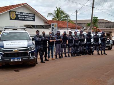 Cinco pessoas são conduzidas em operação para apurar invasão de terras em Porto Esperidião
