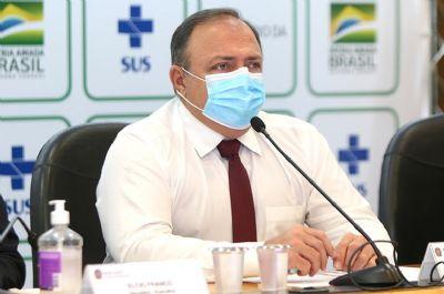 Ao vivo: Pazuello explica PNI contra a covid no Senado
