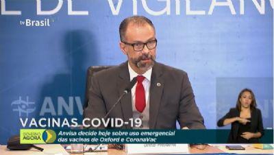Barra Torres pede veto da MP que impõe prazo de 5 dias para Anvisa analisar uso emergencial de vacinas