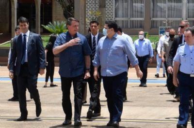Bolsonaro e Davi são vaiados em Macapá