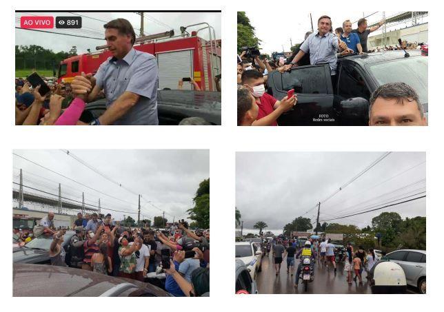 MPF e MPAC pedem responsabilização de Bolsonaro e Pazuello por crimes contra a saúde pública durante visita ao Acre