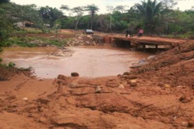 MPF pede a prisão de fazendeiro que construiu ponte na terra indígena Portal do Encantado