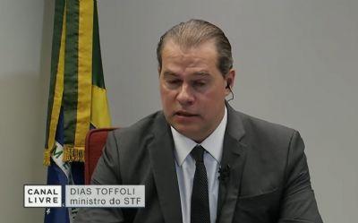 Toffoli revela que ataques ao Congresso e STF são financiados por organização internacional