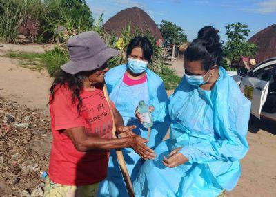 Casos de covid-19 entre indígenas chegam a 44.680, diz Apib