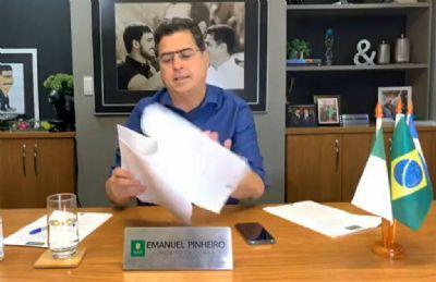 Justiça Eleitoral reprova contas de campanha de Emanuel Pinheiro