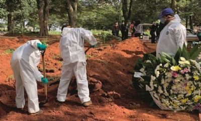 BRASIL CHEGA A 250 MIL MORTES COM A PANDEMIA DA COVID-19