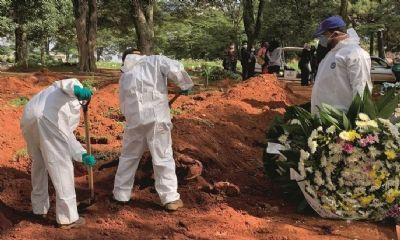 BRASIL BATE RECORDE DE MORTES DESDE O INÍCIO DA PANDEMIA DA COVID-19