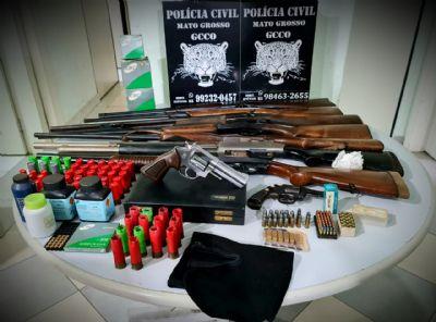 Polícia Civil recupera mais de seis mil litros de defensivos roubados de fazenda em Sapezal