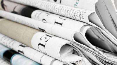 Veja aqui as manchetes dos jornais deste domingo