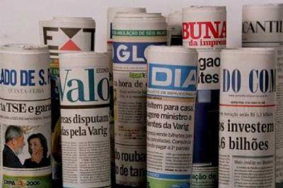 Veja aqui as manchetes dos jornais deste sábado