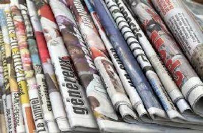 Veja aqui as manchetes dos jornais desta sexta-feira