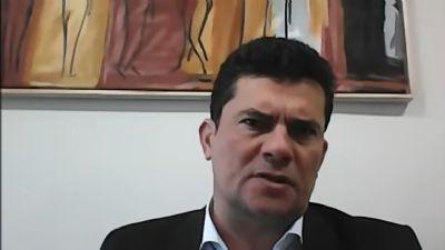 Sergio Moro acompanhou ''perplexo'' as últimas declarações de Bolsonaro