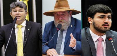 Medeiros, Barbudo e Emanuel votaram para livrar bolsonarista da prisão