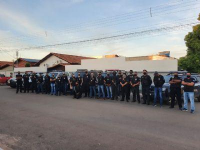 Polícia Civil deflagra operação contra associação criminosa envolvida em roubos em propriedades rurais na região de fronteira