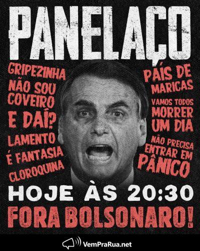 Luciano Huck e Vem Pra Rua convocam panelaço contra Bolsonaro