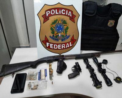 PF combate tráfico de armas em Oiapoque