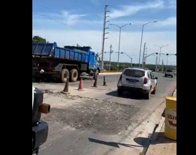 Prefeitura de Cuiabá remove lombada e instala radar na Rodovia Emanuel Pinheiro