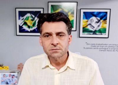 Pedido de afastamento de prefeito é redistribuído para presidente do TJ; Naco abre investigação criminal