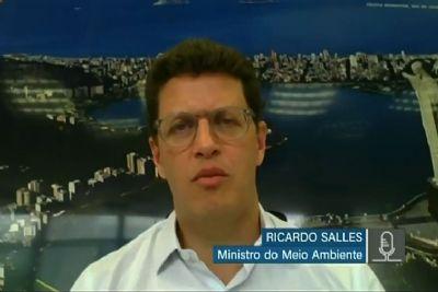 Ricardo Salles diz que Governo só fiscaliza 6% do Pantanal