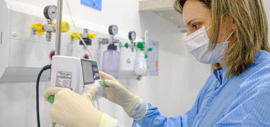 Em MT, 541 pessoas estão hospitalizadas em leitos de UTI (Crédito: Mayke Toscano/Secom-MT)