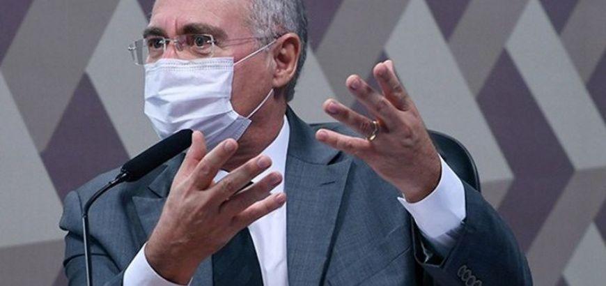 Renan Calheiros adia para outubro a entrega do relatório da CPI da Pandemia (Crédito: Reprodução)