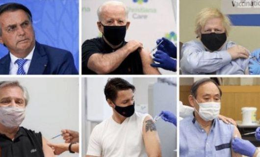 Jair Bolsonaro é o único dos presidentes do G20 que não tomou vacina da covid (Crédito: Reprodução)