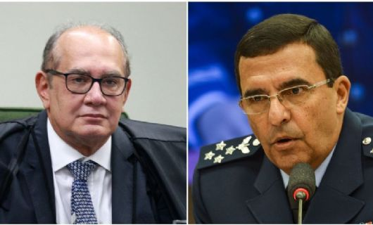 Comandante da Aeronáutica fala com ministro Gilmar Mendes e nega apoio a golpe (Crédito: : FELLIPE SAMPAIO/SCO/STF E MARCELO CAMARGO/AGÊNCIA BRASIL)