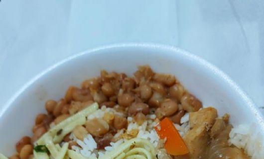 Policiais Civis de MT reclamam da qualidade das refeições (Crédito: Reprodução)