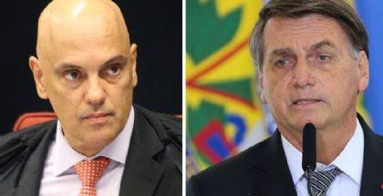 Datafolha: 76% dos brasileiros autorizam o impeachment se Bolsonaro sair das quatro linhas da Constituição (Crédito: NELSON JR./STF E FABIO RODRIGUES POZZEBOM/AGÊNCIA BRASIL)