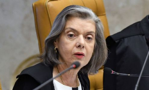 Ministra Cármen Lúcia rejeita ação para obrigar presidente da Câmara a pautar impeachment (Crédito: Carlos Moura/STF)