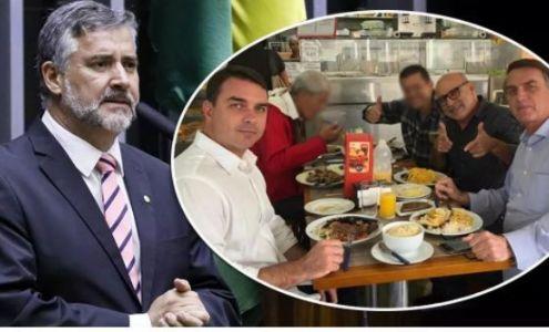 Paulo Pimenta: Queiroz é o PC Faria da família Jair Bolsonaro (Crédito: Reprodução)