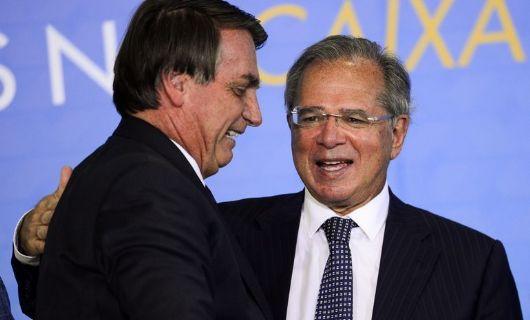 Enquanto a economia do país está um caos, Guedes  lucrou R$ 760 mil (Crédito: Marcelo Camargo/Agência Brasil)