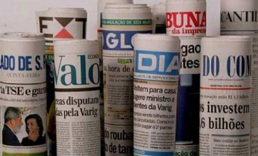 Veja as manchetes dos jornais desta segunda-feira (Crédito: Reprodução)