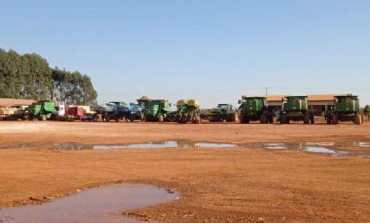 Operação Silo de Areia cumpre 24 mandados contra envolvidos em esquema de desvio e receptação de cargas de soja (Crédito: Polícia Civil-MT)