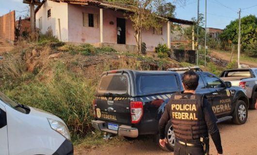PF cumpre cinco mandados de prisão contra criminosos que invadiram casa de delegado (Crédito: Divulgação/PF)