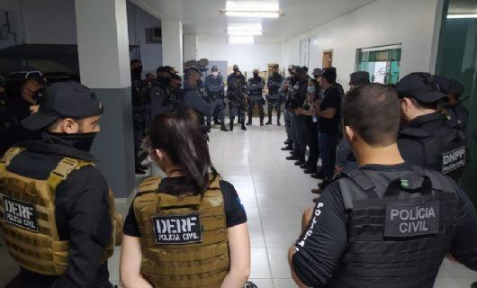 Operação cumpre mandados contra alvos envolvidos no tráfico de drogas em Primavera do Leste (Crédito: Polícia Civil-MT)