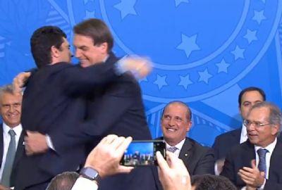 Bolsonaro e Moro lançam Projeto em Frente Brasil